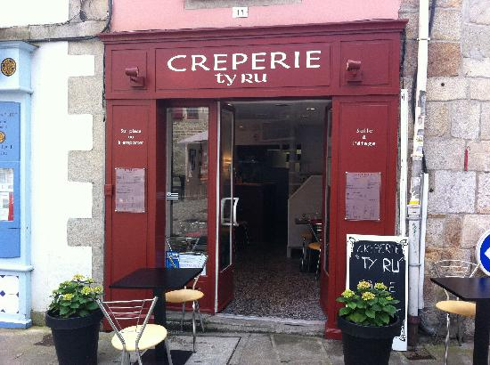 Traditional French Food - Creperie Ty-Ru - Quimper - Bretagne