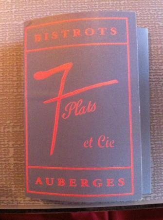 Traditional french food l 39 auberge des 7 plats le mans for Auberge des 7 plats