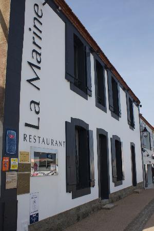 Traditional french food la marine noirmoutier en l ile pays de la loire - Restaurant la marine noirmoutier ...