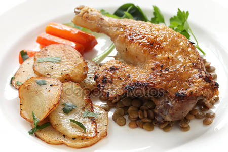 Confit de canard for Aquitaine france cuisine