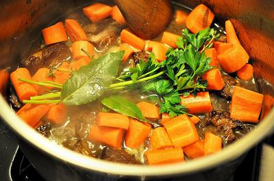 Traditional Beef Stew from Burgundy