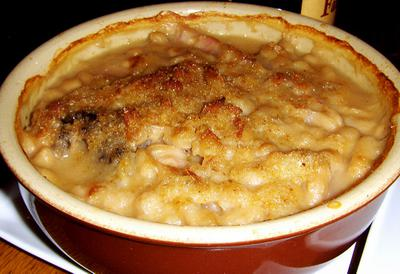 Cassoulet - slow-cooked bean stew
