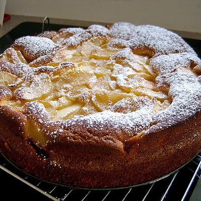 Gâteau aux pommes de Normandie